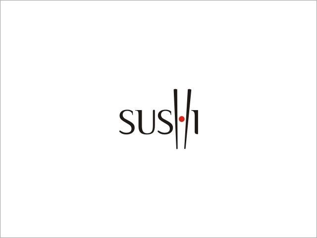 标志设计元素运用实例:寿司