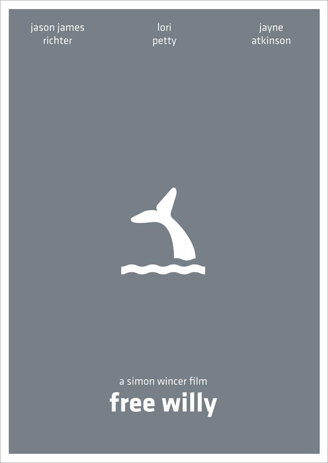 极简风格电影海报设计2(22)