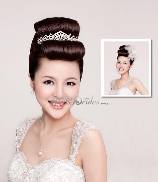 3款新娘精致发型图片