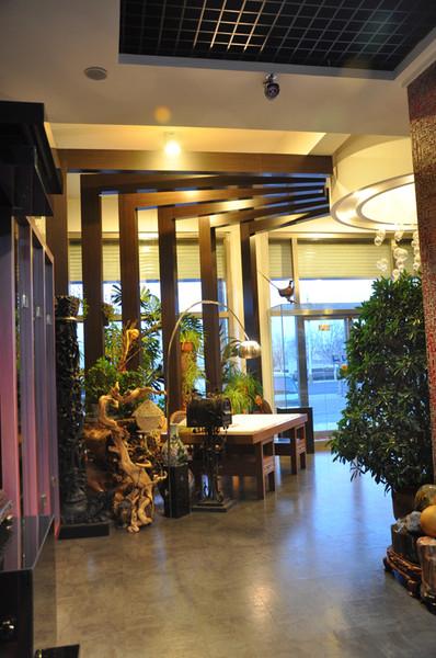 中式风格店铺空间装修设计效果图