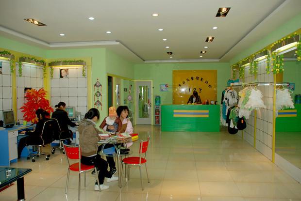 123儿童影楼装修效果实拍图片高清图片