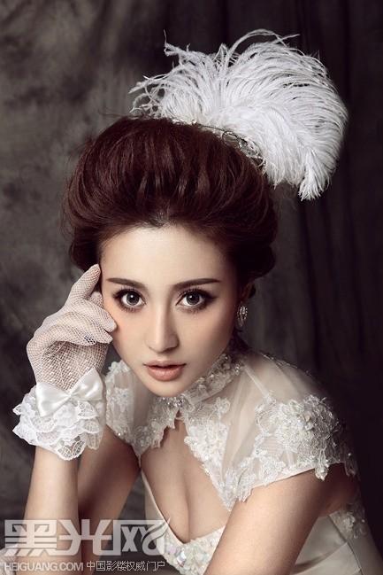 奢华新娘 妆面造型