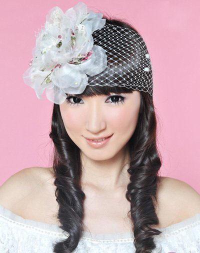 可爱新娘的5款发型(3)_妆面赏析_影楼化妆_黑光网