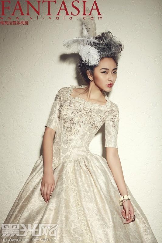 欧式新娘的复古高贵 化妆造型