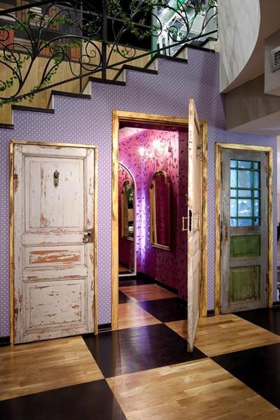 俄羅斯復古時尚潮流,浪漫店鋪設計(3)_裝修·櫥窗