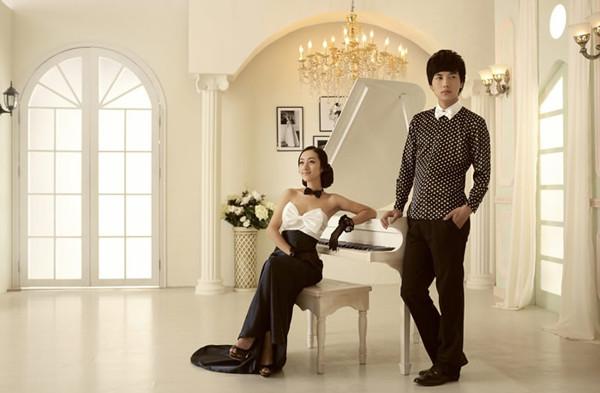 美轮美奂的韩风圣殿实景_实景·道具·家具_影楼管理