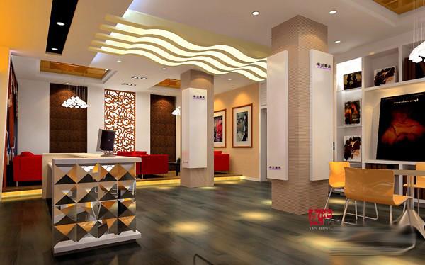 影楼接待厅整套设计方案