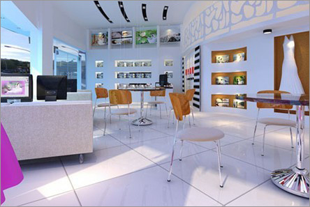 店面门头室内3d效果图; 杭州余杭各大小厂房装修设计,街道商铺装饰