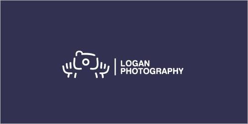 80款摄影主题logo设计
