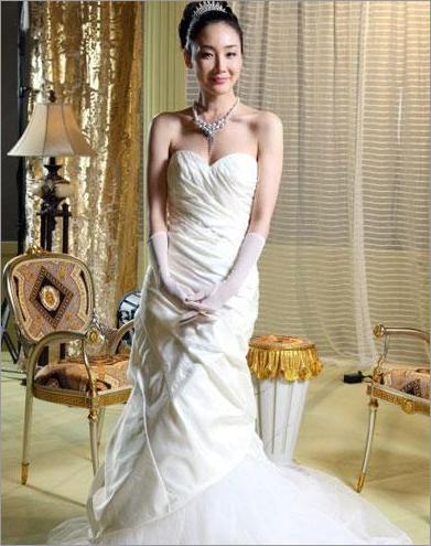 学女明星新娘造型 做今夏最美新娘 婚嫁资讯 时尚新娘 新娘造型图片