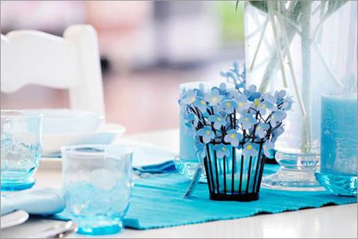 地中海海洋风 蓝色主题婚礼