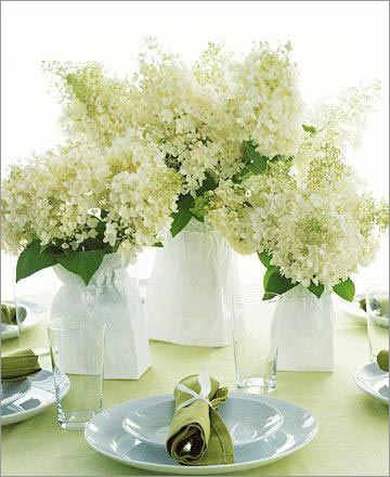 美丽无边 浪漫的婚礼餐桌鲜花摆饰