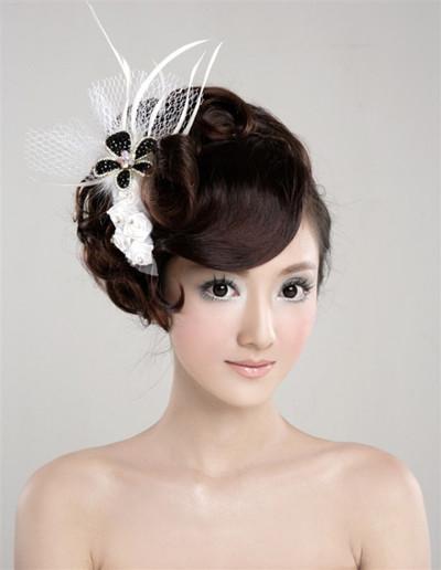 时尚新娘造型欣赏(1)_妆面赏析_影楼化妆_黑光网图片