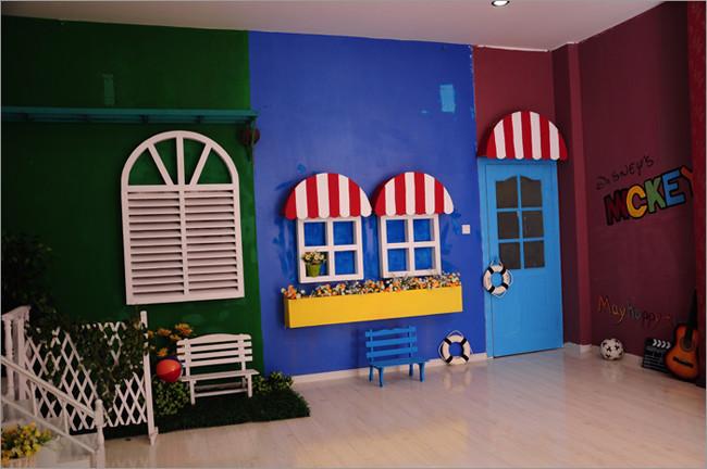 儿童书屋影棚设计