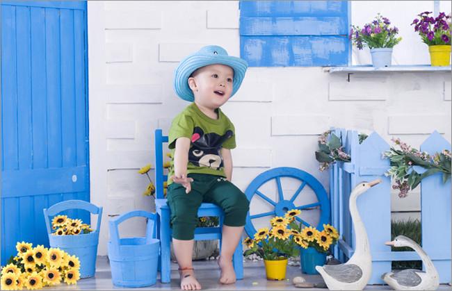 儿童影棚实景设计与改造(二) 影楼实景 儿童实景