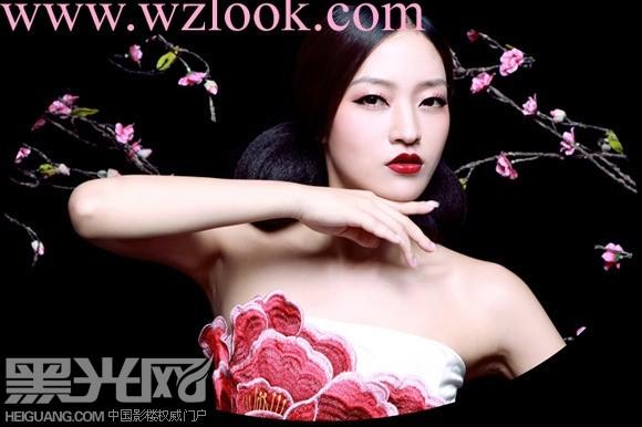 中国风造型(3)_化妆造型图片