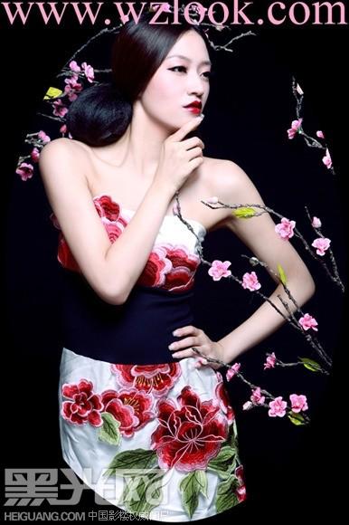 中国风造型 化妆造型图片