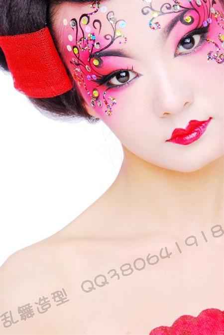 [彩绘妆面]粉墨·面具