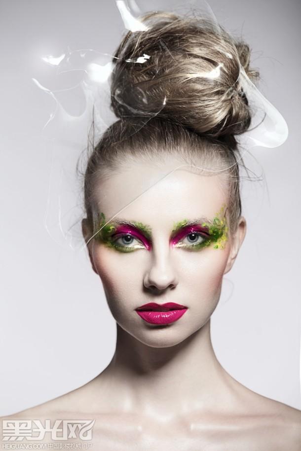 印象派化妆造型