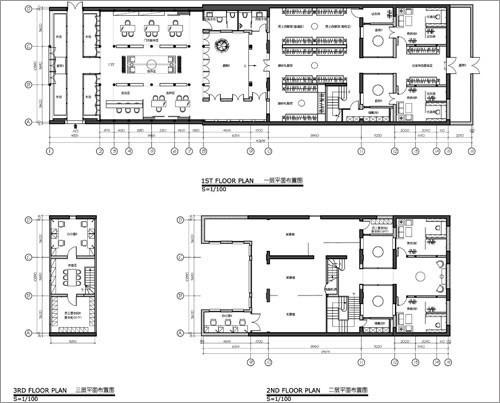 工作室图纸; ido婚庆工作室设计; ido婚纱摄影工作室:旧房新装修老院