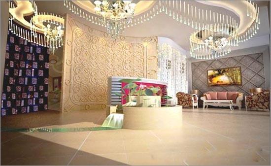 个性宾馆装修效果图 个性时尚装修效果图 个性宾馆装修效