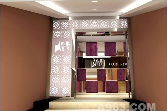 简单造型出多彩光影魅力 影楼装修 橱窗设计 橱窗设计展示