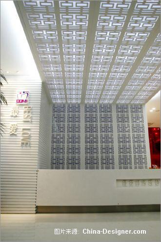 婚纱摄影店铺装修 铺满爱心的纯白空间设计