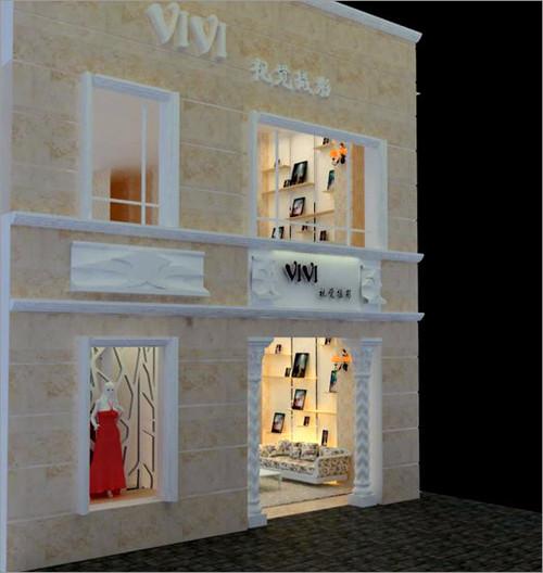 甜蜜温馨感 影楼装修 儿童影楼装修 橱窗设计 橱窗设计展示