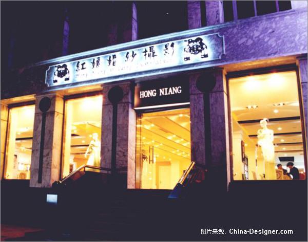 钟情高雅欧式古典红设计 影楼装修 橱窗设计 橱窗设计展示