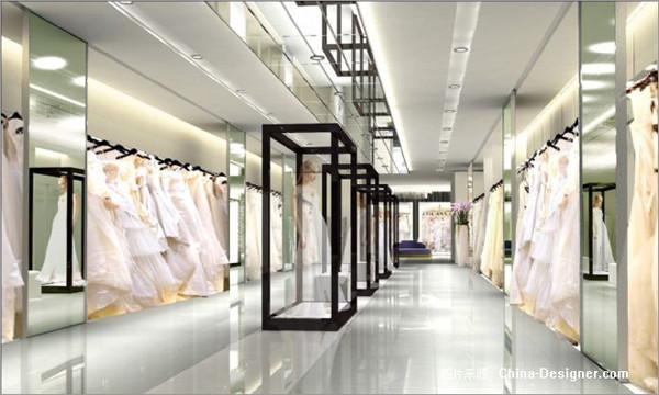 个性婚纱摄影会所装修 用简约设计彰显优雅质感