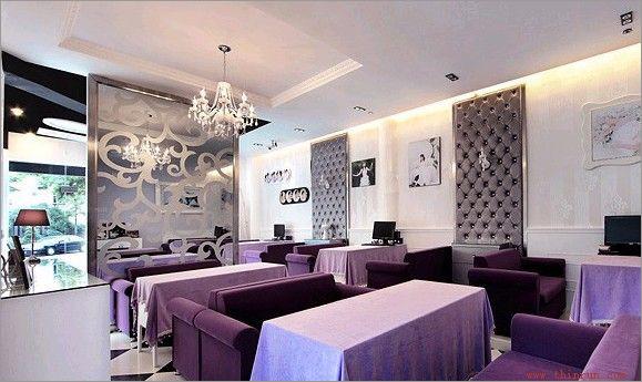 优雅紫色 时尚浪漫 优雅紫色 时尚浪漫婚纱摄影的店面装修