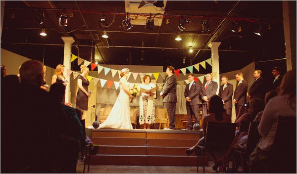 婚礼仪式舞台 说说婚礼造景搭台那点事