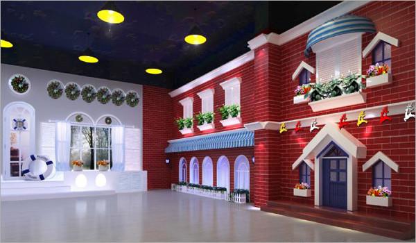 儿童影楼装修的时尚环保篇(3)_装修·橱窗·设计_影楼