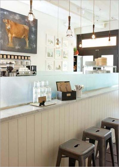 影楼实景之怀旧咖啡馆 韩风味道影棚展示