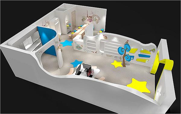 星光贝贝儿童摄影设计效果(2)_装修·橱窗·设计_影楼