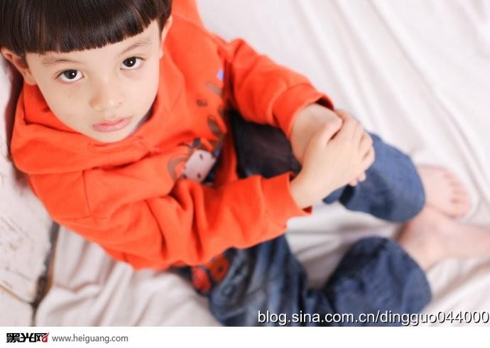 混血小王子儿童摄影