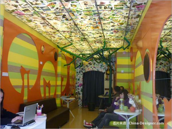 儿童摄影工作室装修实景 创意设计制造童趣感