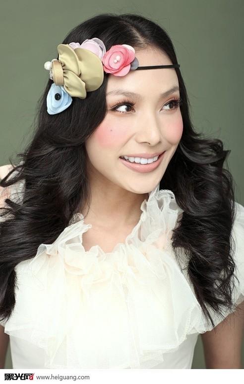 新娘发型篇(全)_化妆造型_黑光图库_黑光网