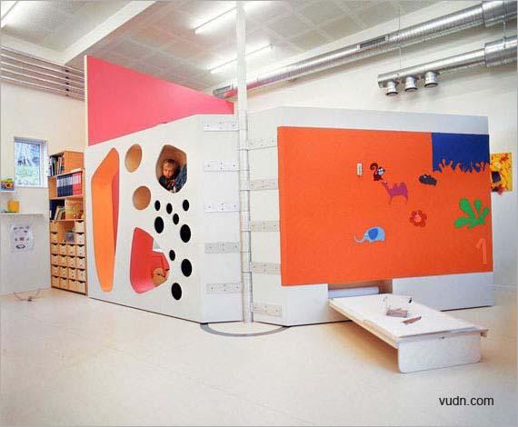 """儿童活动空间设计 洞洞""""蜂巢""""演绎活泼创意"""