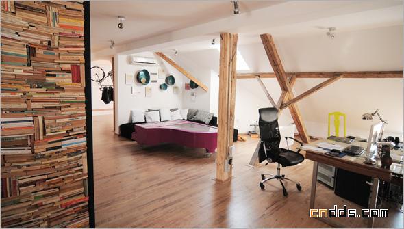 影楼管理 装修·橱窗·设计 个性工作室装修 用空间表达设计美感