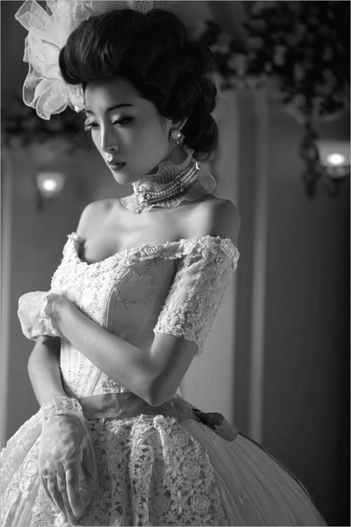 摄影中的伦勃朗光(济南金夫人婚纱摄影提供)-光影和调子 后期修图