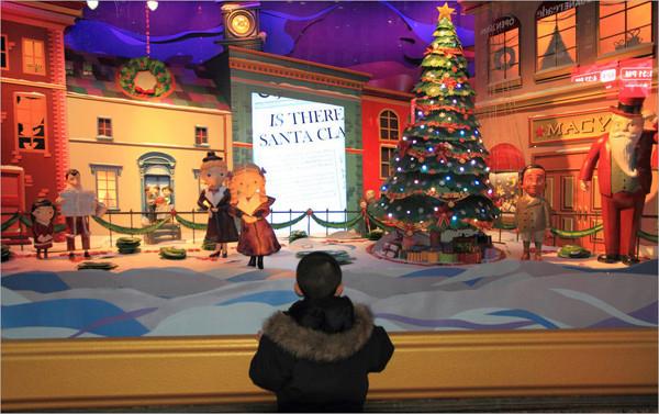 儿童影楼圣诞橱窗设计:梦幻童话世界(4)