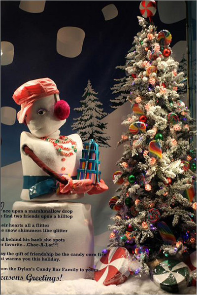 儿童影楼圣诞橱窗设计:梦幻童话世界(6)