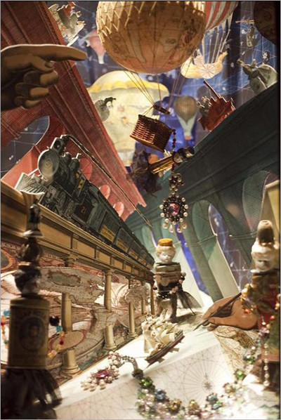 影楼圣诞橱窗设计; :梦幻童话世界;