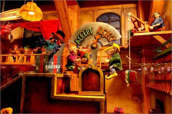儿童影楼圣诞橱窗设计:梦幻童话世界(12)