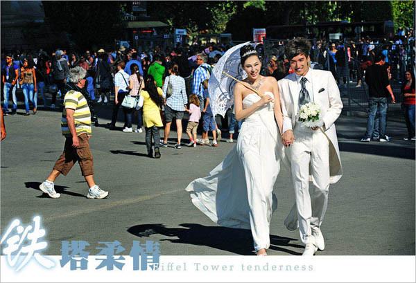 巴黎旅游婚纱 埃菲尔铁塔的永恒记忆(3)