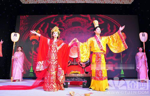 婚礼走势:中式婚礼引领婚庆文化趋势图片