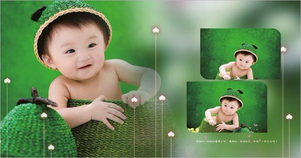 青柚宝宝的时光机——儿童相册的字体编排