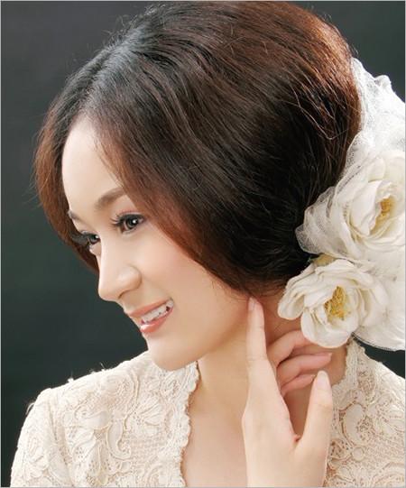 复古发型 散发妩媚韵味的新娘(上)(4)