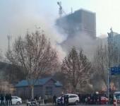 【寿光影楼火灾】现场全被烧毁 3人遇难9人受伤